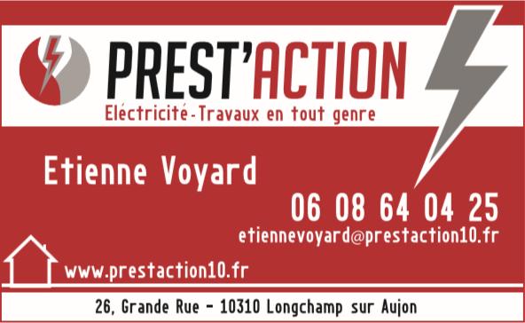 Prest'Action Travaux d'électricité dans l'Aube et la Haute-Marne